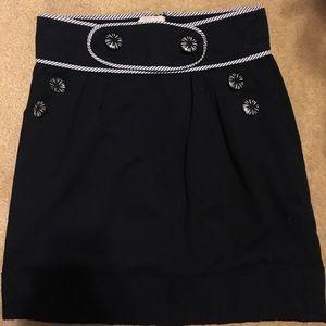 Dresses & Skirts - navy sailor skirt vintage